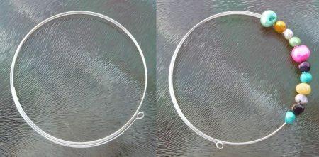 memory wire armband basteln1a