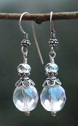 kristal oorhangers