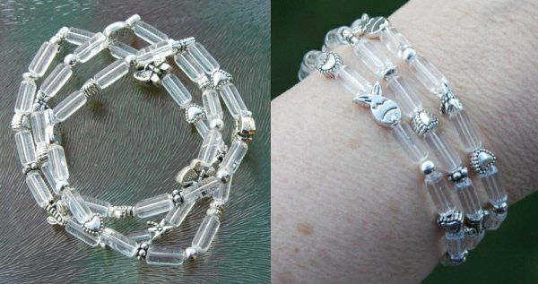 armband elastisch draad glaskraal2