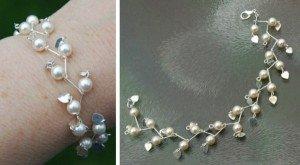 armband met parels kettelen22