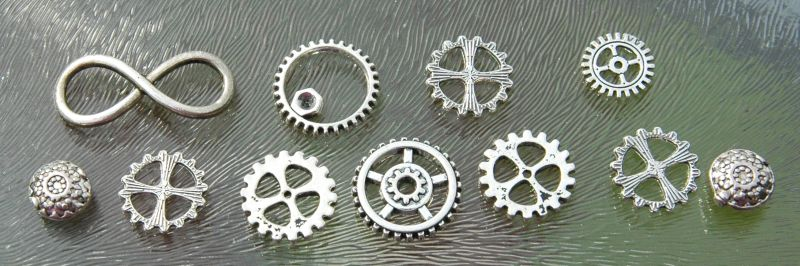 steampunk onderdelen